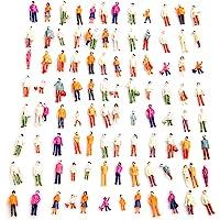 Fautly 100 Piezas/Juego de Mini Figuras de Personas