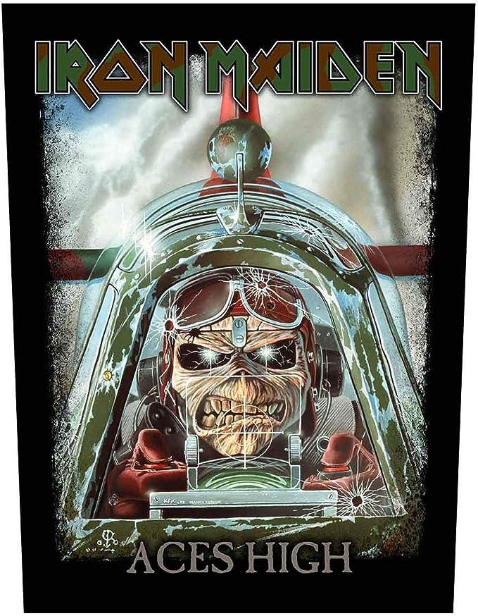 OFFICIAL IRON MAIDEN T-SHIRT Powerslave Album Eddie Logo Aces High All Sizes