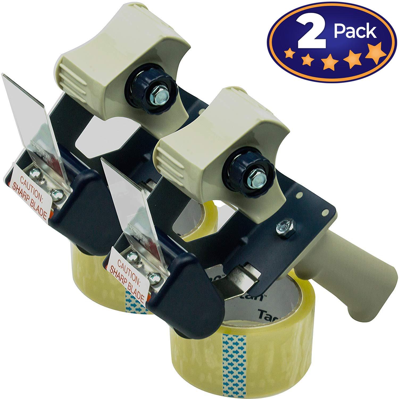 3 M Tartan embalaje cinta pistola 2 unidades=No lucha para el buen embalaje dispensador de cinta. Fácil de agarre para You Get más cajas empaquetado en ...
