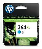 HP 364XL High Yield Cyan Original Ink Cartridge (CB323EE)