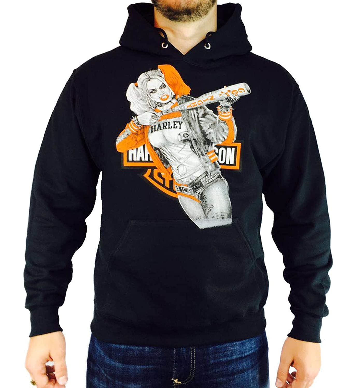 Harley davidson harley quinn hoodie at amazon mens clothing store voltagebd Gallery