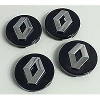 4x 60mm Alloy Wheel Buje Center Caps Renault