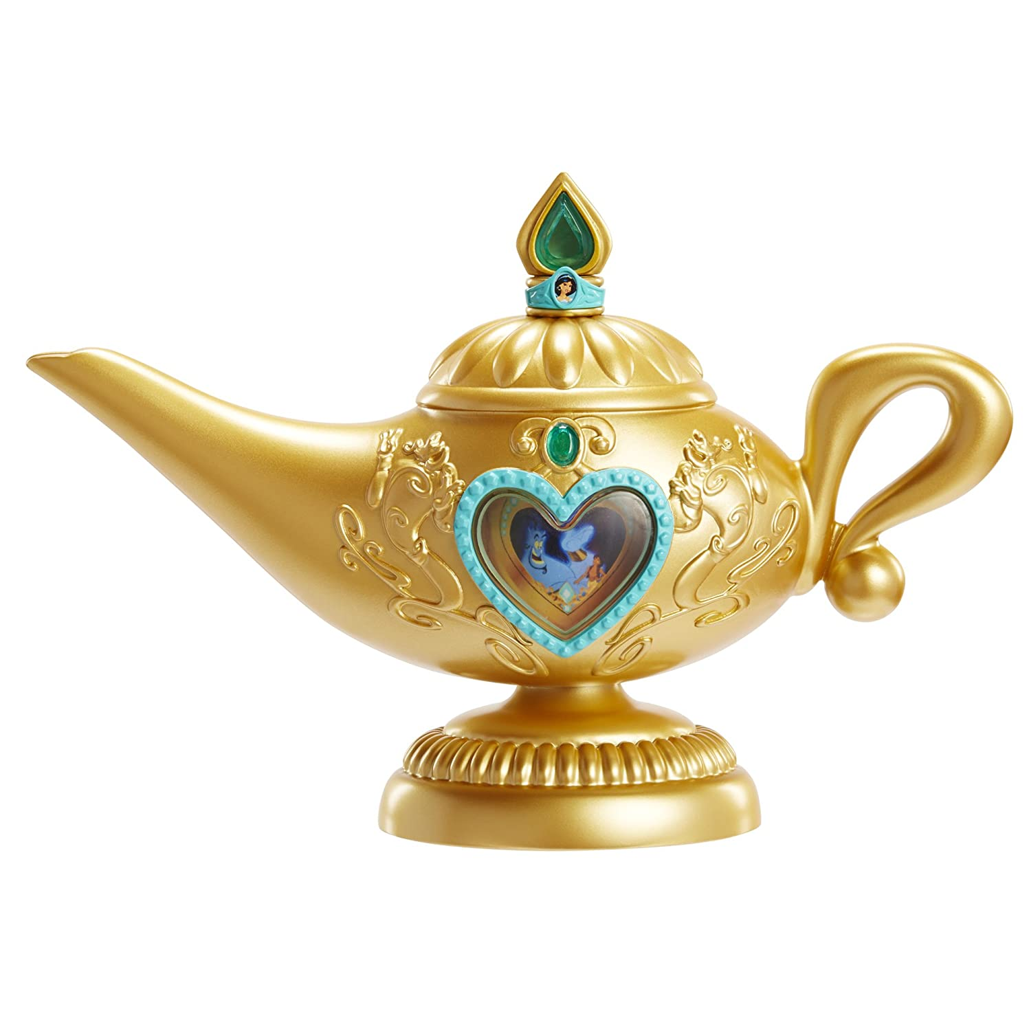 Amazon.com: Disney Princess Aladdin Genie Lamp Toy: Toys  for Magic Lamp Aladdin Disney  557yll