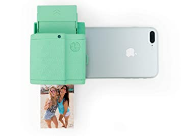 Prynt Pocket Instant Photo Printer For Iphone Mint Green Amazon