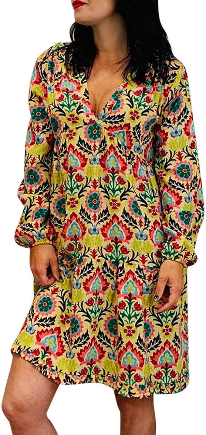 POachers Vestidos de Fiesta Mujer Cortos Sexy Vestidos Otoño ...