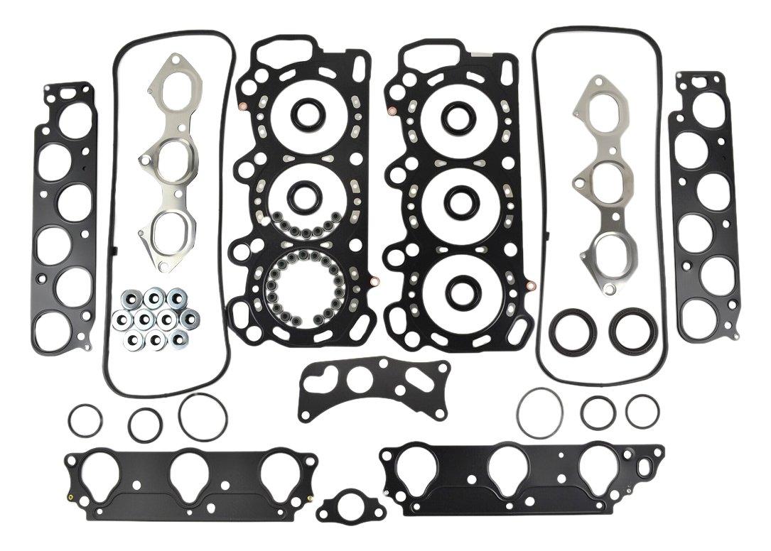 ITM Engine Components 09-11819 Cylinder Head Gasket Set for 1997-2002 Acura//Honda 3.0L V6 J30A1 Accord CL
