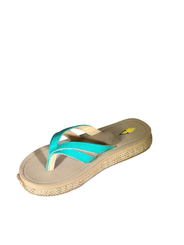Volatile Women's Verity Thong Sandal B06XXPFT96 9 B(M) US|Turquoise