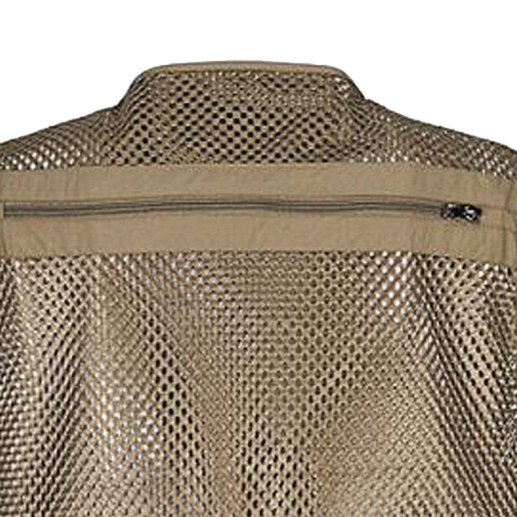 Gilet de P/êche//Photographie avec Multi-Poche zipp/ée pour Homme