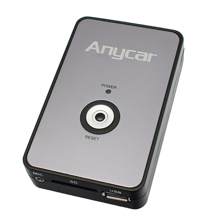 Adattatore USB SD AUX MP3 per Radio Alpine TDA e CDA (eccetto modelli CDA-9847 e 9857) ANYCAR AL-1080A