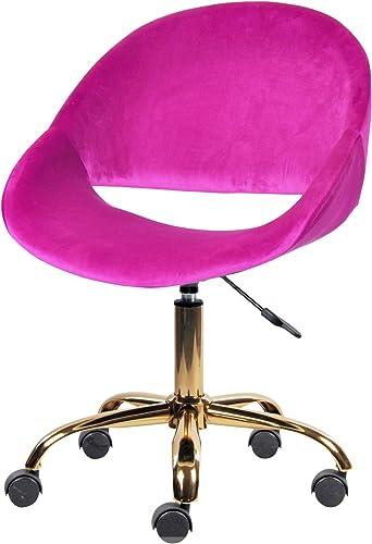 Purple Velvet Vanity Chair/Makeup Stool Chair