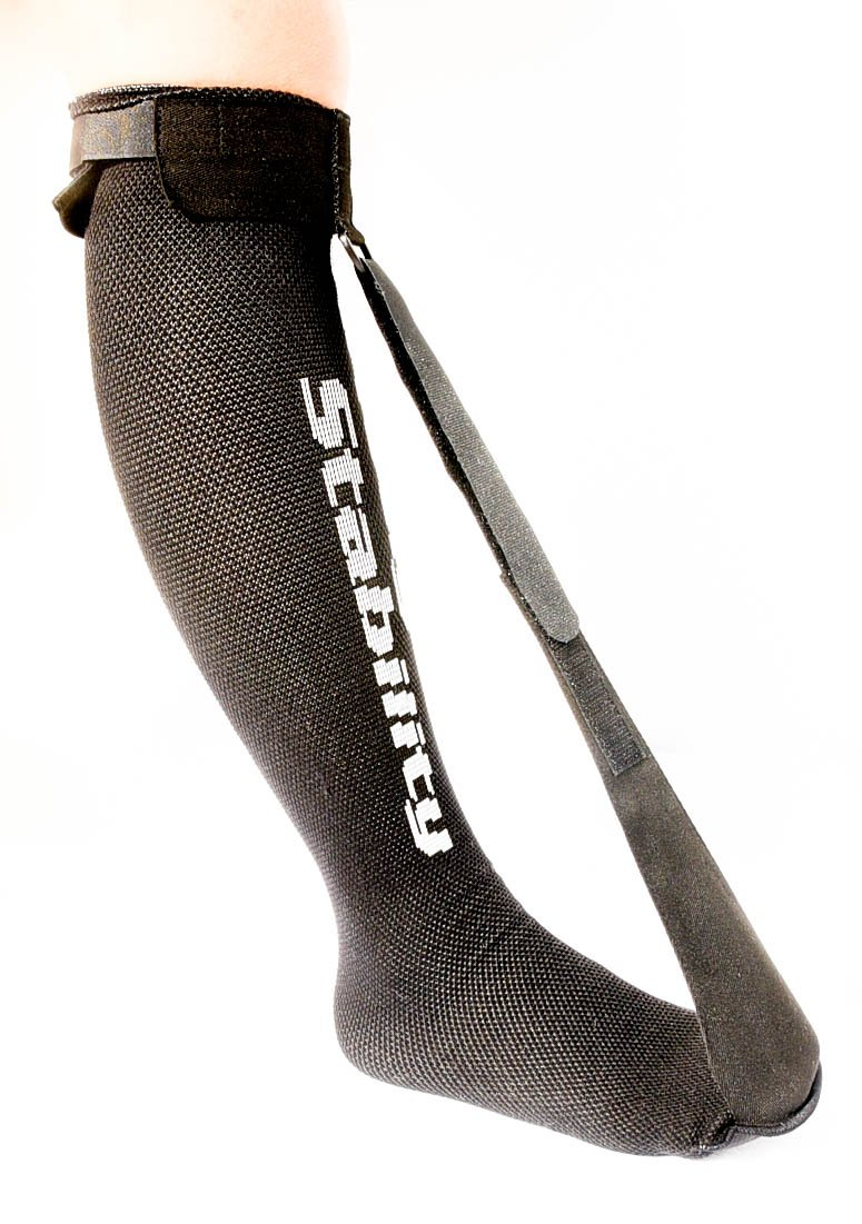 StrictlyStability Single Strap Night Sock for Plantar Fasciitis and Achilles Tendonitis (Regular) by StrictlyStability