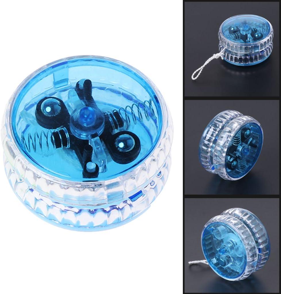 MOMOJIA 4pcs YoYo Light Up Clutch Mechanism Toy Yoyo Trick Speed Ball Kids Toy