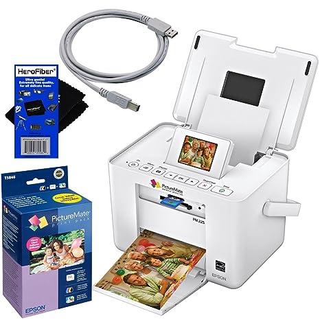Epson PM225 PictureMate Charm compacto foto impresora de inyección ...