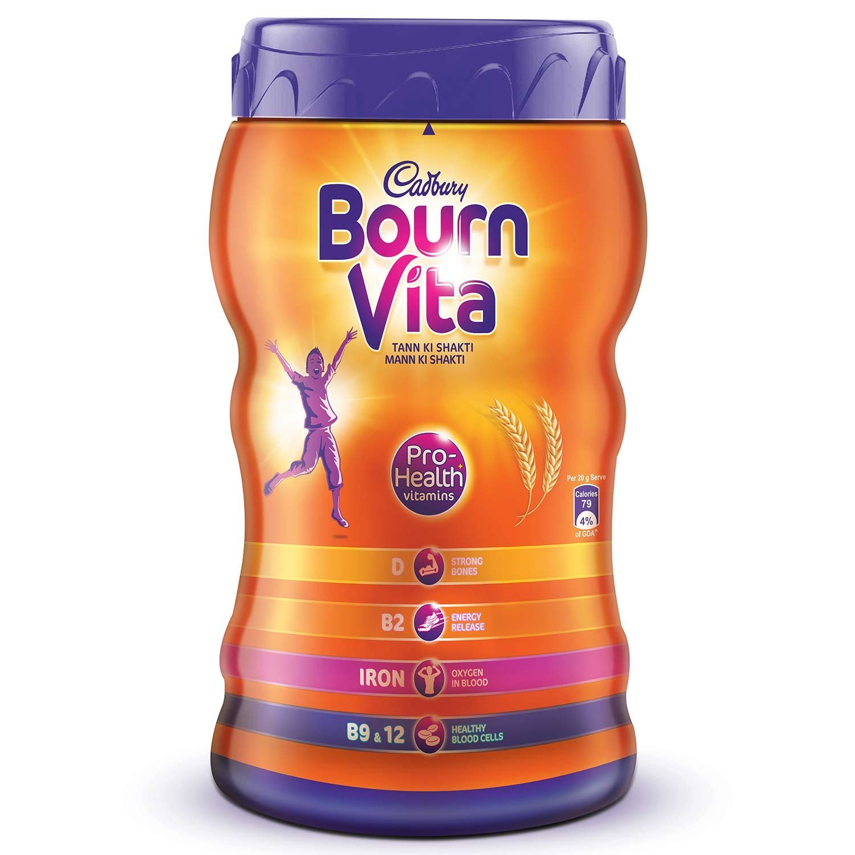 Cadbury Bournvita Pro-Health Chocolate Health Drink, 500 gm Jar