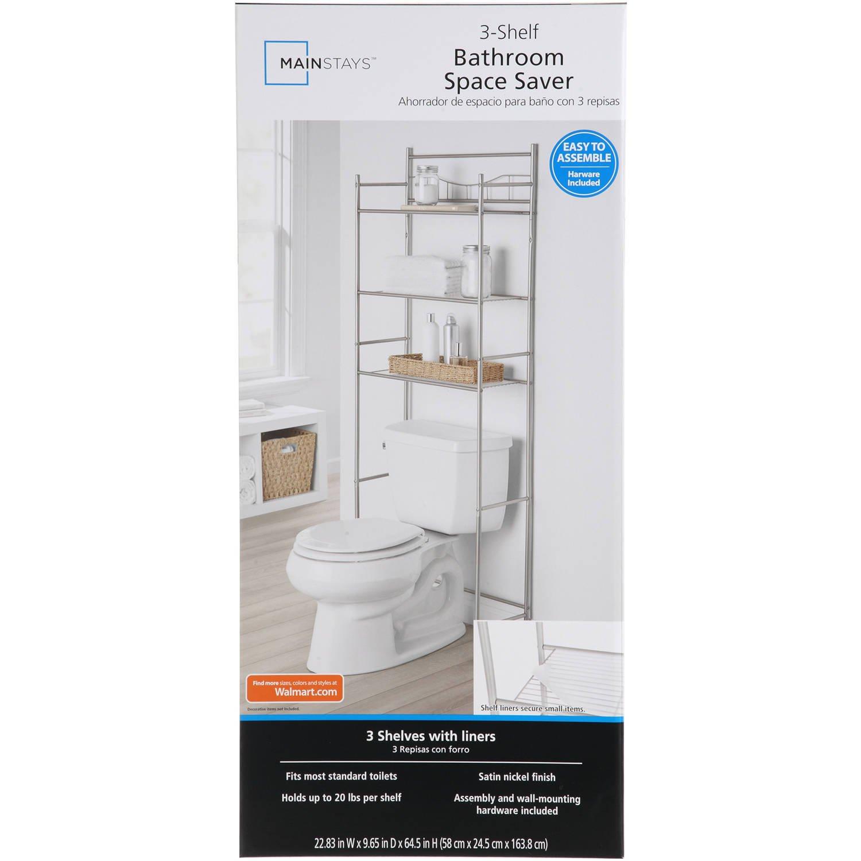 Amazon 3 shelf Bathroom Space Saver Storage Organizer Over