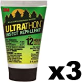 3M UltraThon Insect Repellent 2 oz (3 Pack)