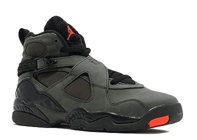 05310647ca1 Nike Men's Air Jordan 8 Retro Black Running Shoes - 4 US: Buy Online ...