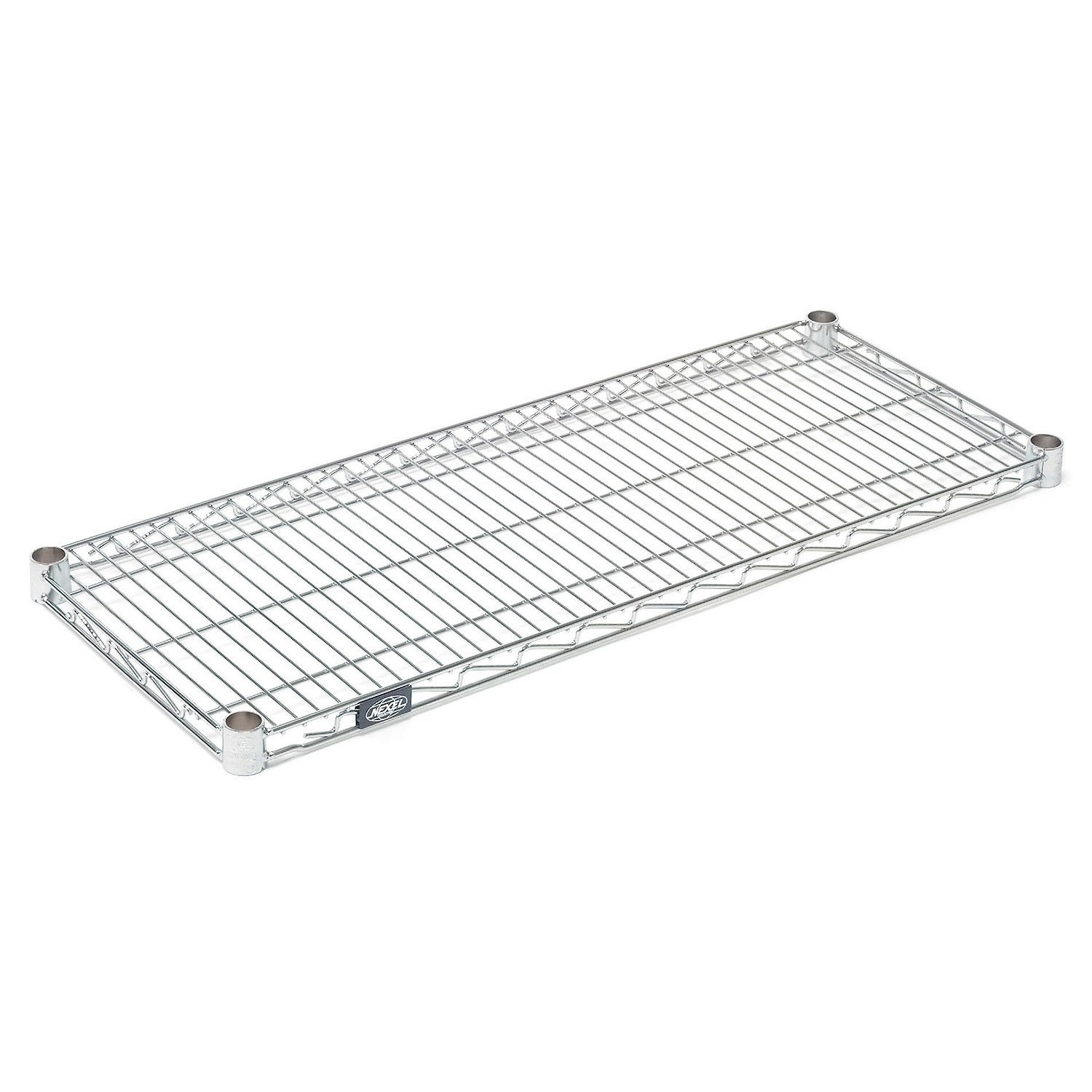 42x18 Chrome Wire Shelf With Clips by Global Industrial