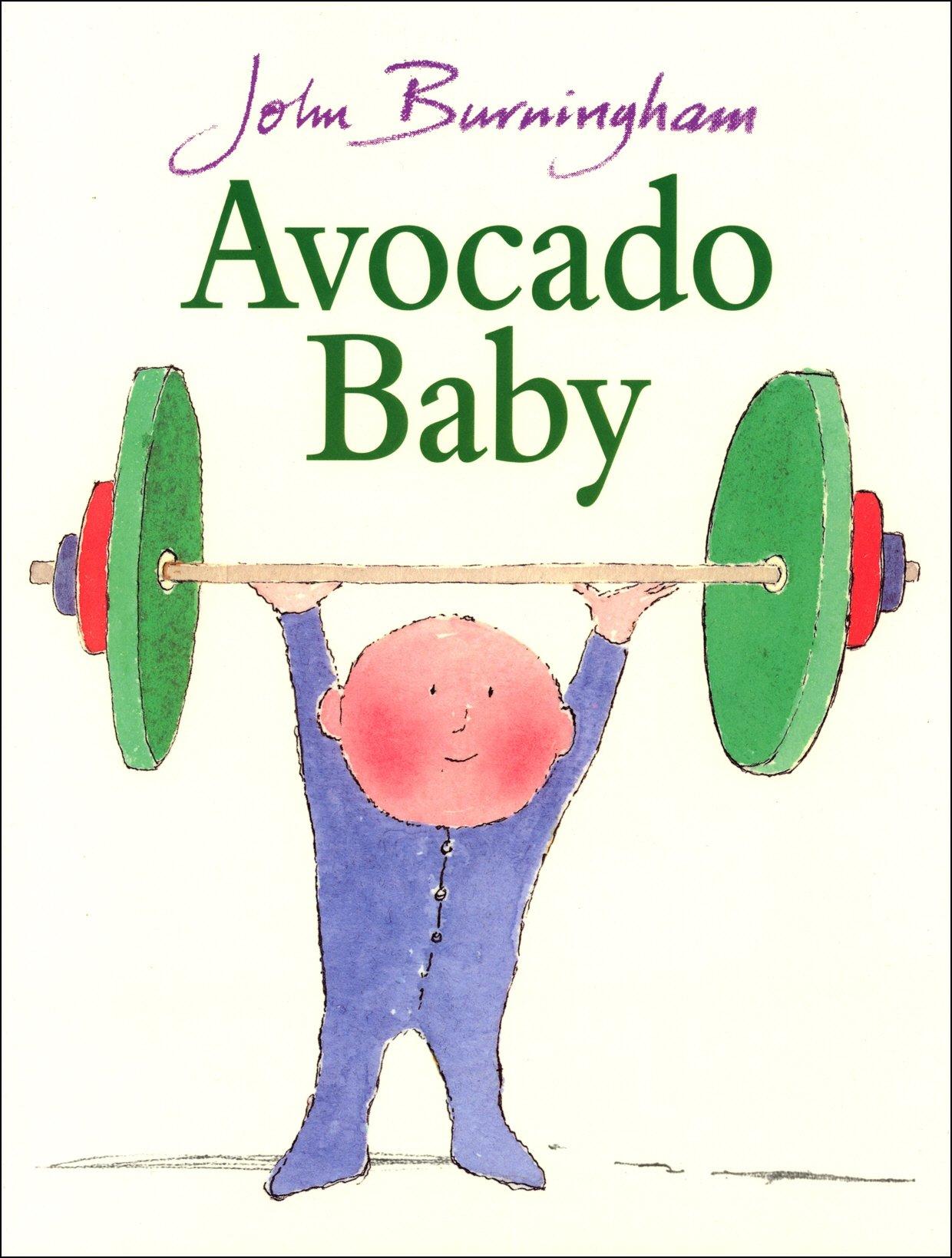 Avocado Baby (Red Fox Picture Books): Amazon.co.uk: Burningham ...