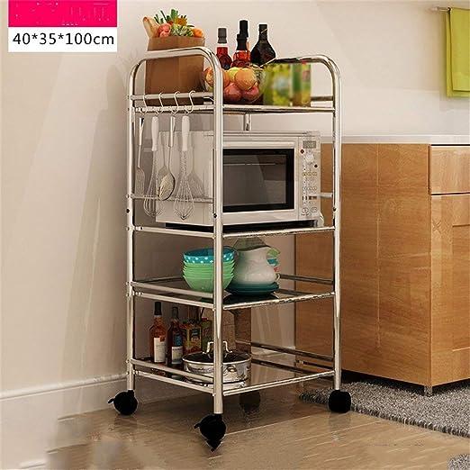 Muebles de cocina Estante de cocina Aterrizaje Estante de horno de ...