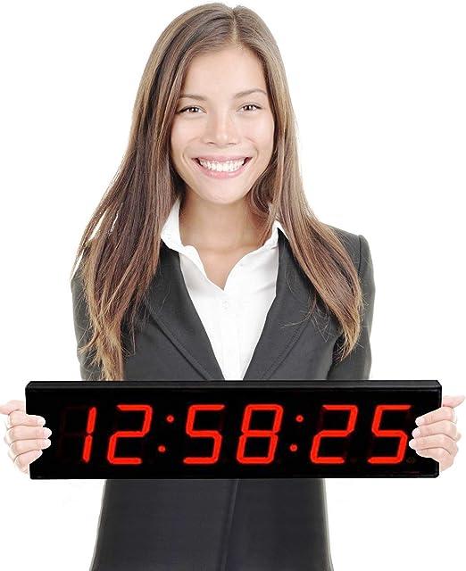 Gran pantalla digital cuenta atrás reloj de pared – 4