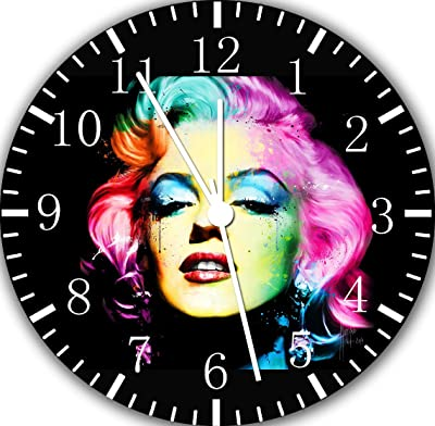Marilyn Monroe Borderless Frameless Wall Clock E314 Nice For Decor Or Gifts