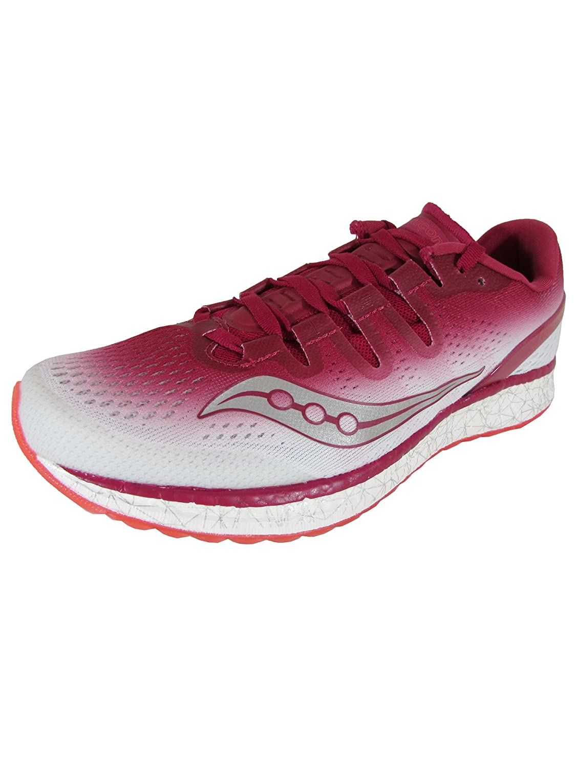 Berry   White Saucony Women's Freedom ISO Running shoes