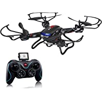 Holy Stone F181 RC Quadcopter Drone with HD Camera (Black)