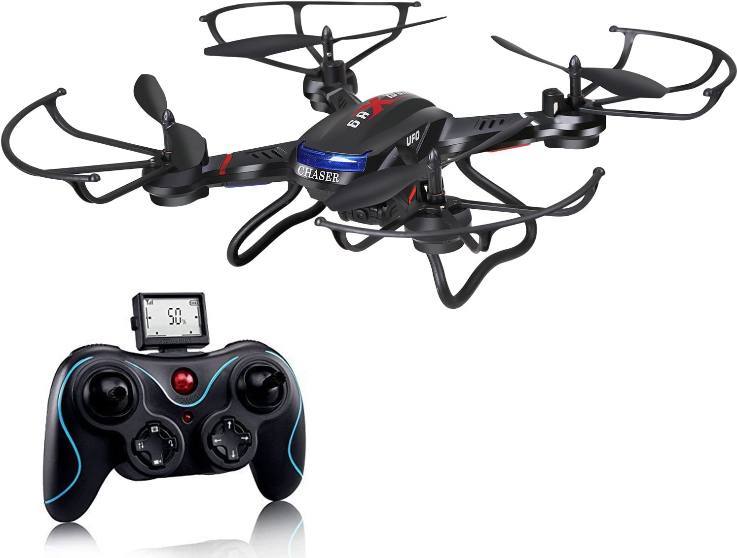 Holy Stone F181W WIfi Fpv Drone compared to Holy Stone F181c drone
