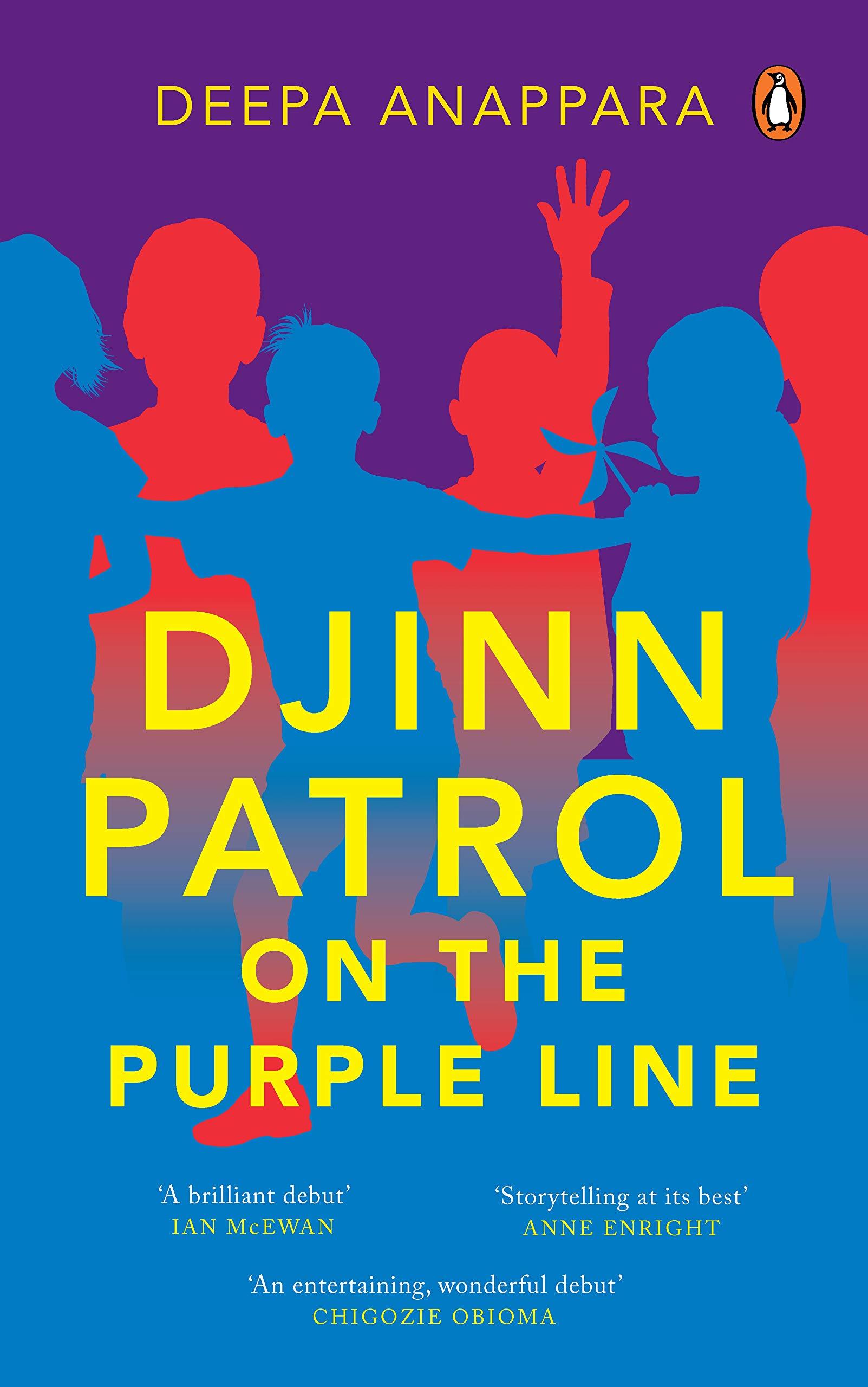 Djinn Patrol on the Purple Line: Amazon.in: Anappara, Deepa: Books