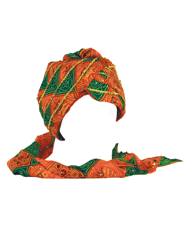 Sunshine Joy Safa Indian Wedding Turban Hat