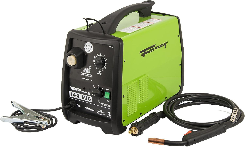 Forney 309 140-Amp MIG Welder, 120-Volt,Green