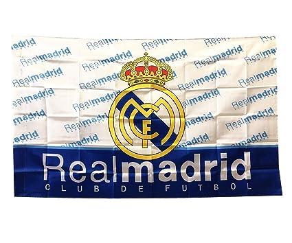 Amazon.com: UHBHEA Real Madrid bandera de fútbol – FC Club ...