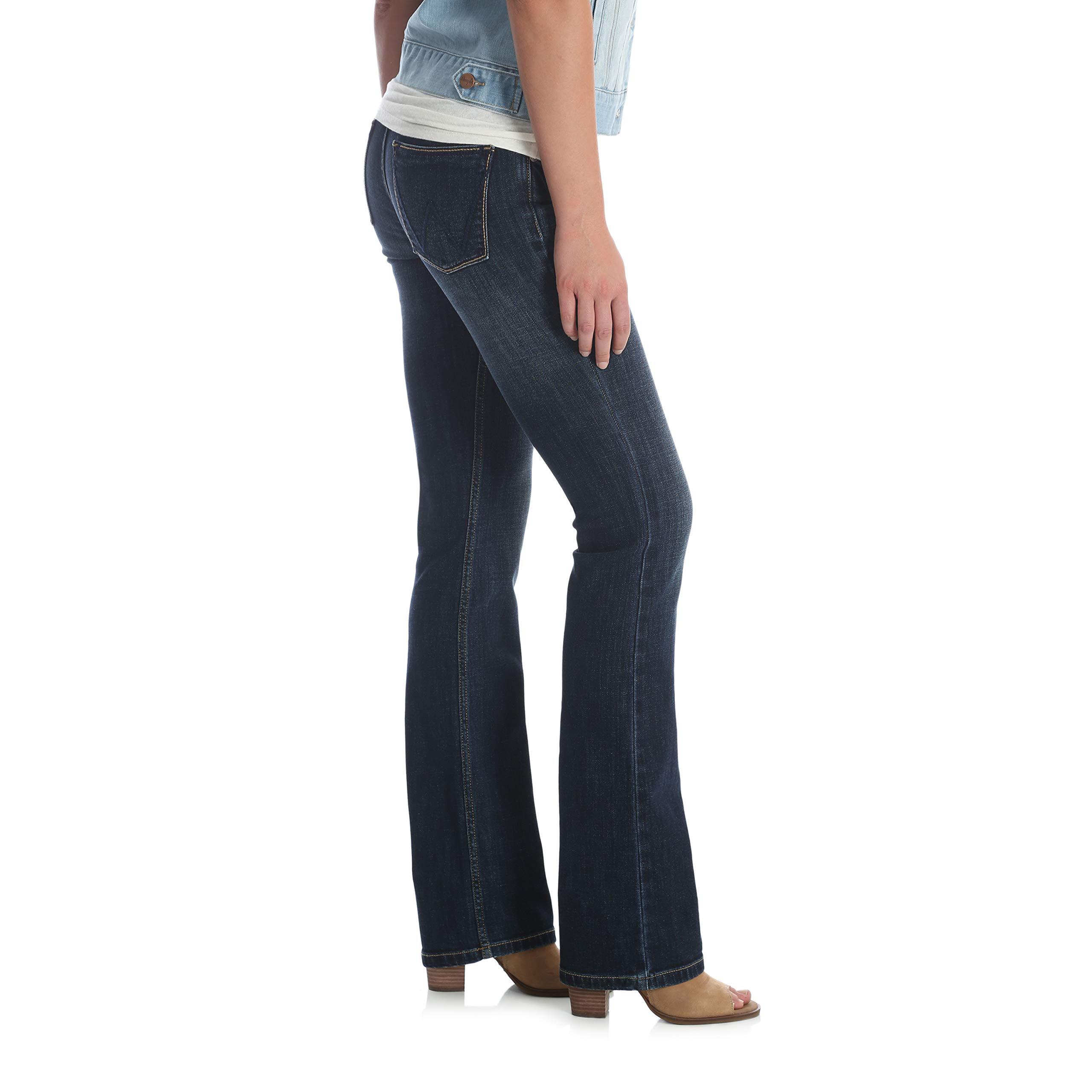 07MWZFK Wrangler Women/'s Retro Sadie Boot Cut Jean Low Rise NEW