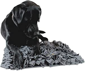 OAKI PET Snuffle Mat for Dogs – Dog Feeding Mat That Slows Down Your Fast Eating Canine – Dog Food Puzzle That Keeps Your Dog Busy – Encourages Foraging Skill – Puzzle Toys for All Breeds (22
