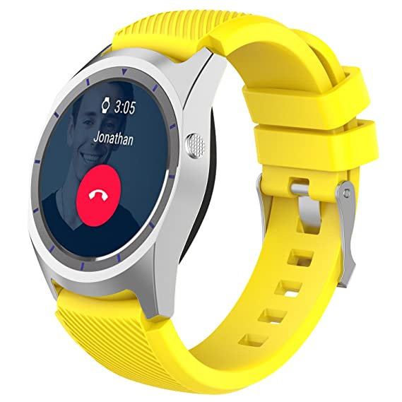 Amazon.com: ZTE Quartz Band Reakle Silicone Smart Watch ...