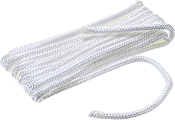 "FENDER LINES 3//8/"" X 6FT EYE SPLICE GOLD WHITE  4 PAC 40991 MARINE BOAT PARTS"