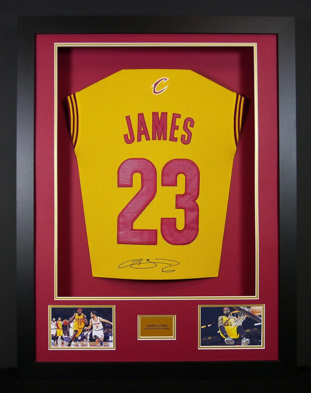 Frame It Display It Gerahmtes Trikot von LeBron James von den ...