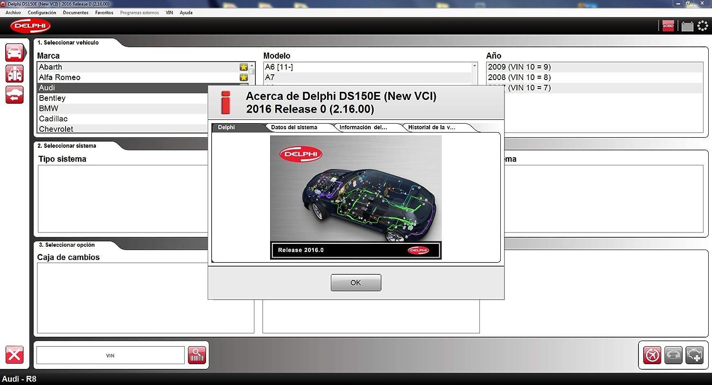 Delphi DS150 2013 autocom cdp E NEW VCI DS150: Amazon co uk: Car