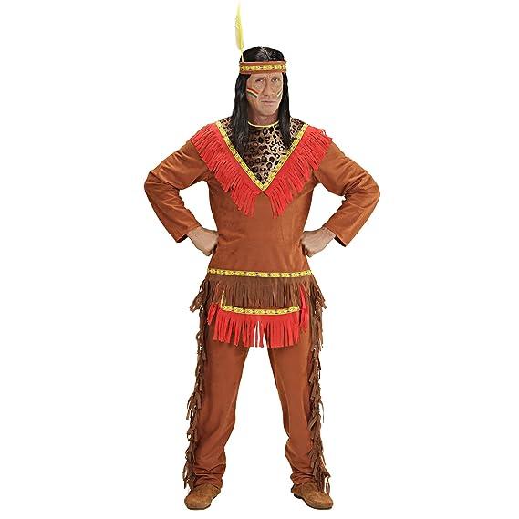 WIDMANN Widman - Disfraz de indio del oeste para hombre, talla M ...