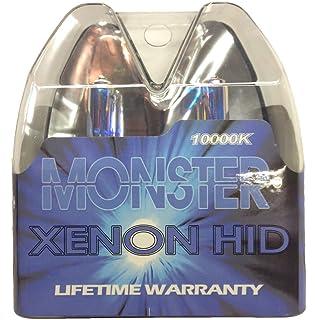 EuroDezigns 9005 Monster Blue Headlights - High Beam 10,000k Xenon-Krypton HID Halogen Replacement