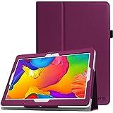 Fintie Funda para BEISTA K107 Tablet de 10.1 Pulgadas / YUNTAB K107 Tablet 10.1 - Slim Fit Folio Funda Carcasa Case con Stand Función para BEISTA Tablet de 10.1 Pulgadas, YUNTAB K107 Tablet 10.1, Artizlee ATL-21plus / ATL-21T / ATL-21X / ATL-31, ibowin P130 / M130 10.1 inch, Lnmbbs 3G/WIFI Tablet 10, XIDO Z120, Excelvan K107 10.1 Inch, Sky Castle 10.1, Púrpura