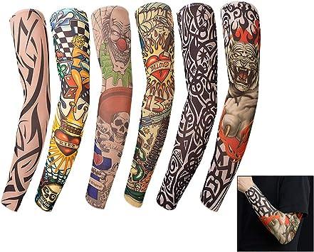 LHKJ Tatoo Brazo, Mangas de Tatuajes Mangas Temporales Falso ...