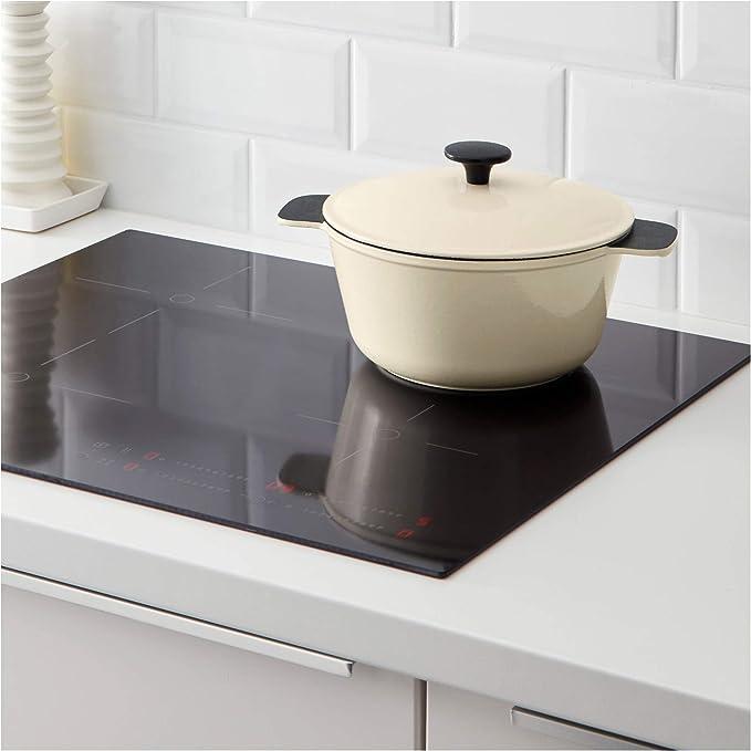 IKEA 902.328.40 Cacerola con tapa, color blanco: Amazon.es