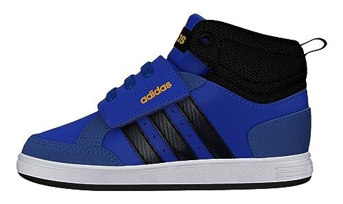 best sneakers b31c9 d0bda adidas Hoops Cmf Mid Inf - Scarpe da Ginnastica da Bebè-Bambini, Taglia 24