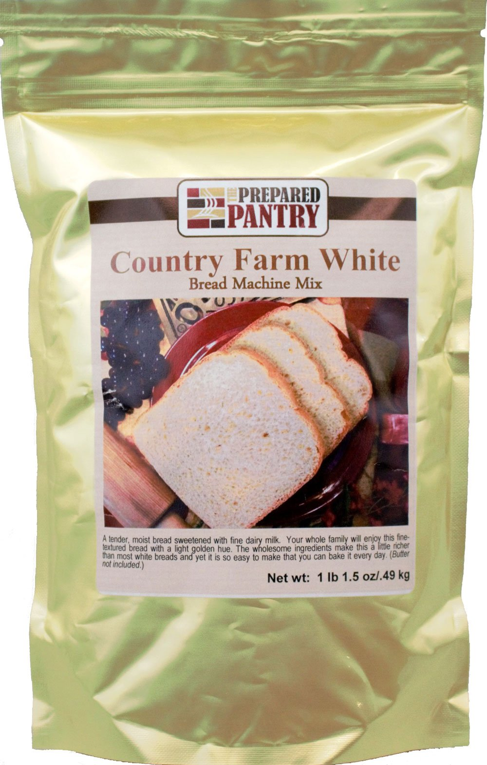 The Prepared Pantry Country Farm White Bread Machine Mix, 17.5 Ounce (Pack of 20)