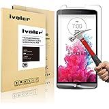 LG G3 Pellicola Protettiva, iVoler� Pellicola Protettiva in vetro temperato per LG G3- Vetro con Durezza 9H, Spessore di 0,2 mm,Bordi Arrotondati da 2,5D-Shockproof, Trasparenza ad alta definizione,  Facile da installare- Garanzia a vita