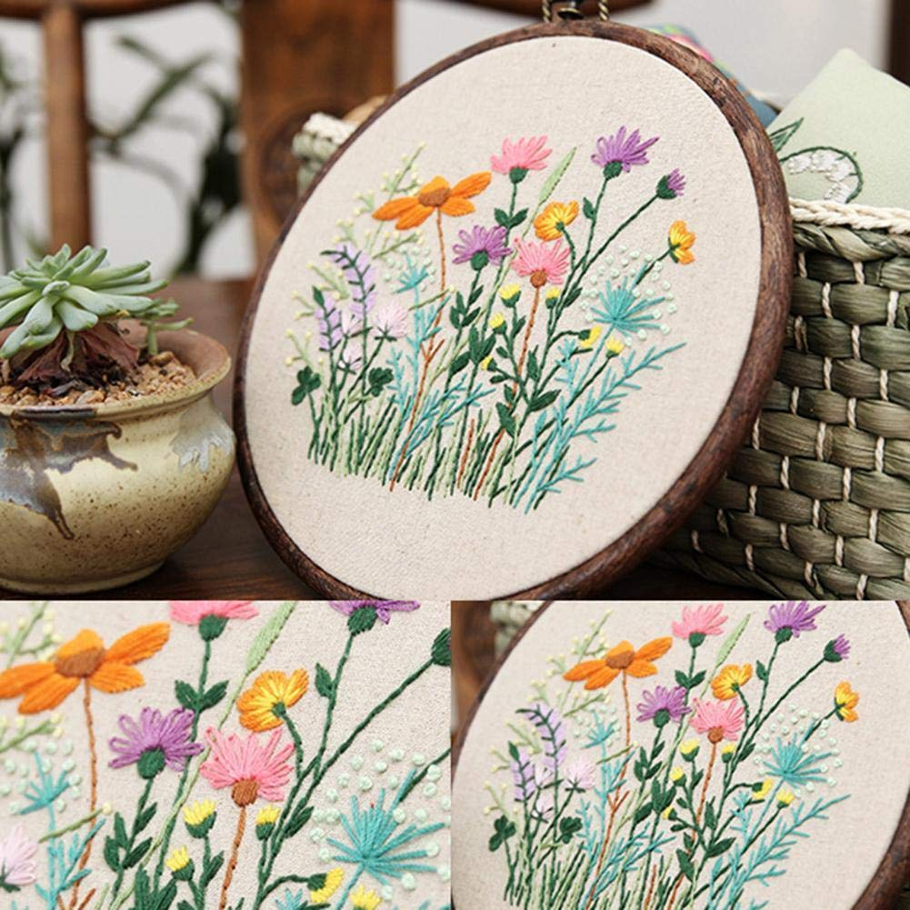 Cross Stitch Embroidery Beginner Counted Starter DIY Embroidery Kit