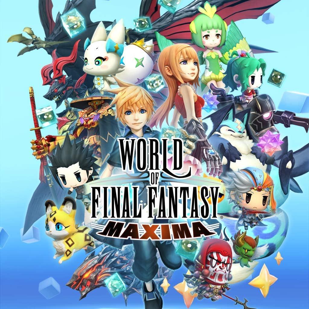 Amazon com: World Of Final Fantasy Maxima Pack - PS4 [Digital Code