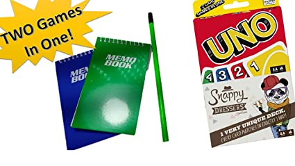 Amazon Com Uno Card Game Snappy Dressers Card Game Combo Get